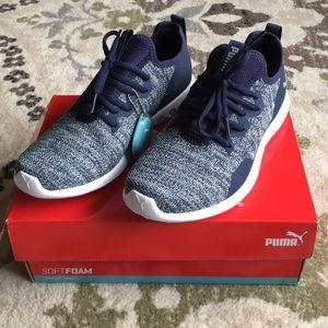 NWT Puma Soft Foam Sneakers